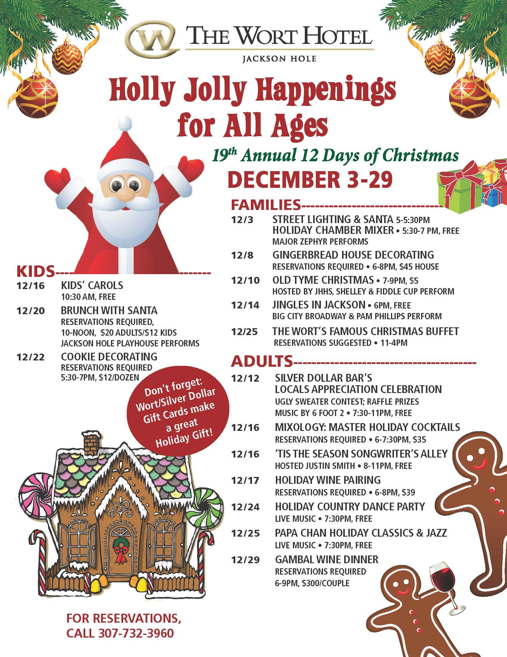 Jackson Hole Holiday Events & Celebrations 2015