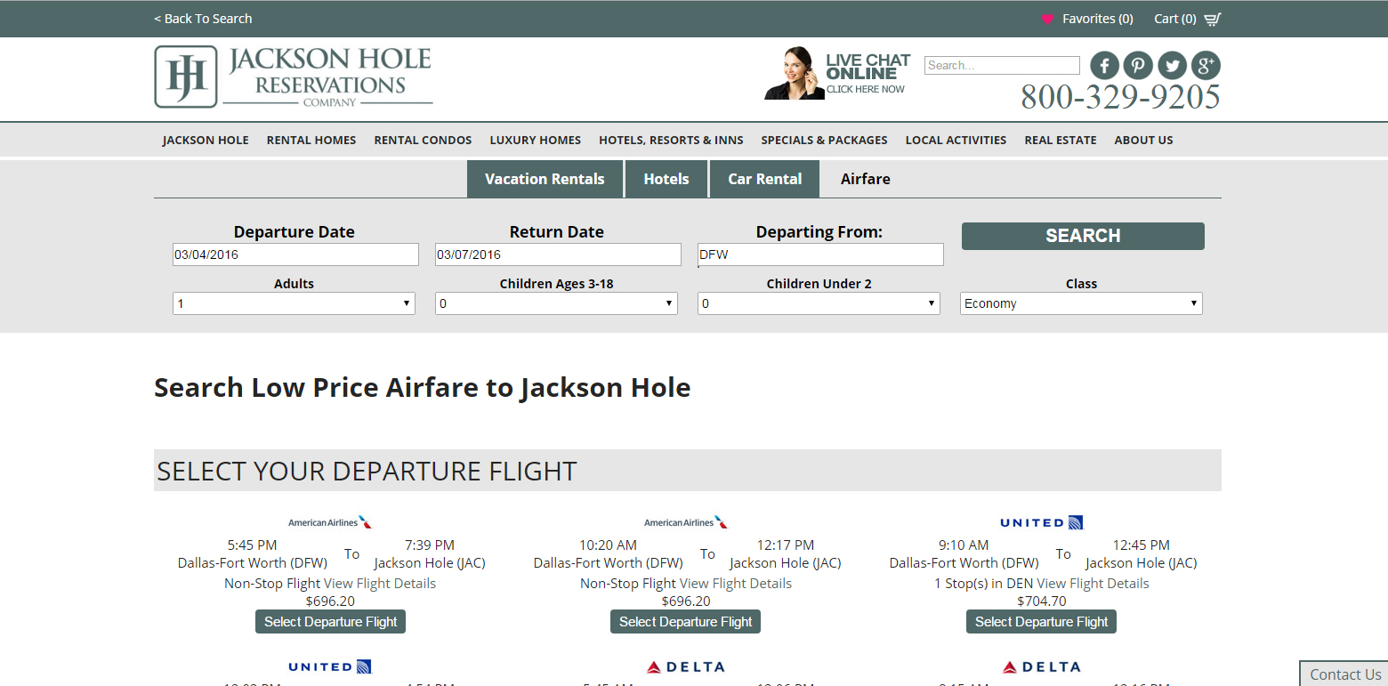 Check Out Jackson Hole Reservations New Website