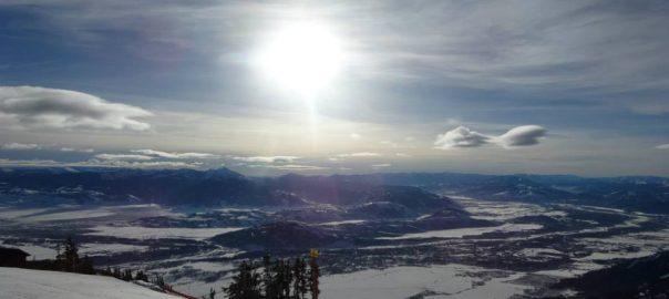 jackson hole in the winter