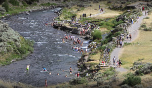 Yellowstone's Boiling River