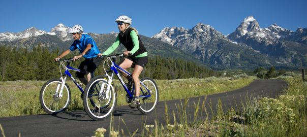 Mountain Biking on Grand Teton National Park Pathway System