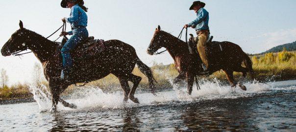Horseback Riding in Jackson Hole, Wyoming