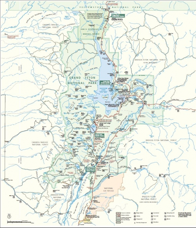 Jackson Hole Area Maps