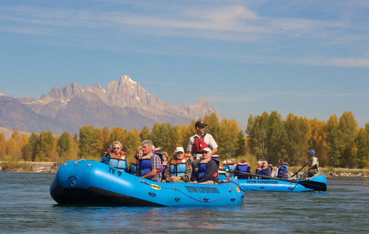 White Water Rafting Trips in Jackson Hole | Barker Ewing