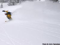 Yet, another Jackson Hole Powder Skiing Day